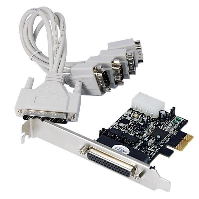 Scheda Seriale RS-232 4 Porte PCI Express con 1...