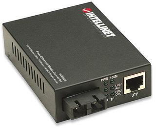Convertitore RJ45 - FIBRA SC Fast Ethernet