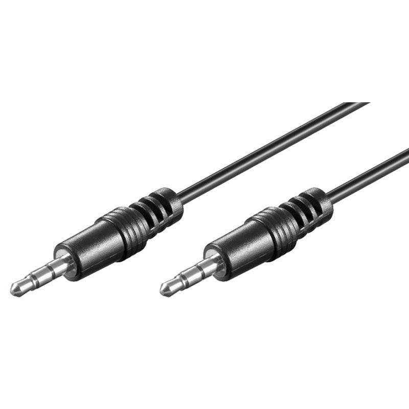 Cavo Audio Stereo Jack 3.5 mm M/M 5m