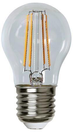 Lampada LED E27 Bianco Caldo 4W Filamento Class...