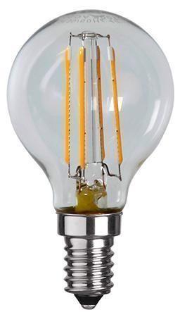 Lampada LED E14 Bianco Caldo 4W Filamento Class...