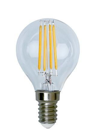 Lampada LED Globo E14 Bianco Caldo 3.2W Filamen...