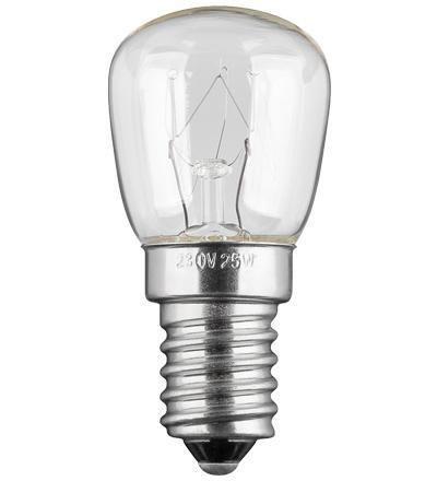 Lampada E14 per Elettrodomestici 25W, 110Lm, Cl...