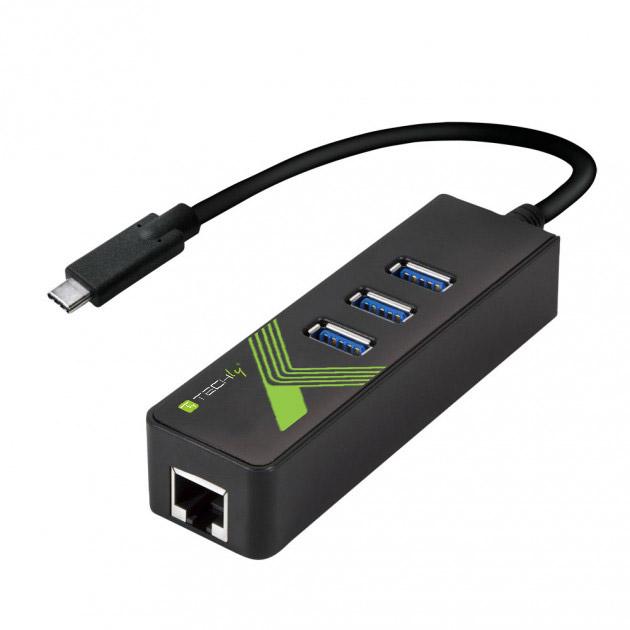 Adattatore Convertitore USB-C™ Ethernet G...