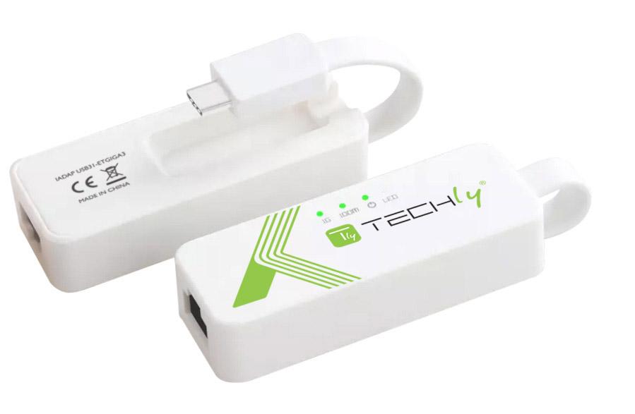 Adattatore Convertitore USB-C™ USB 3.1 Et...