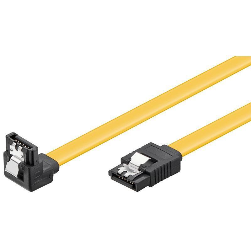 Cavo S-ATA 6GBs Interno Angolato 1 m