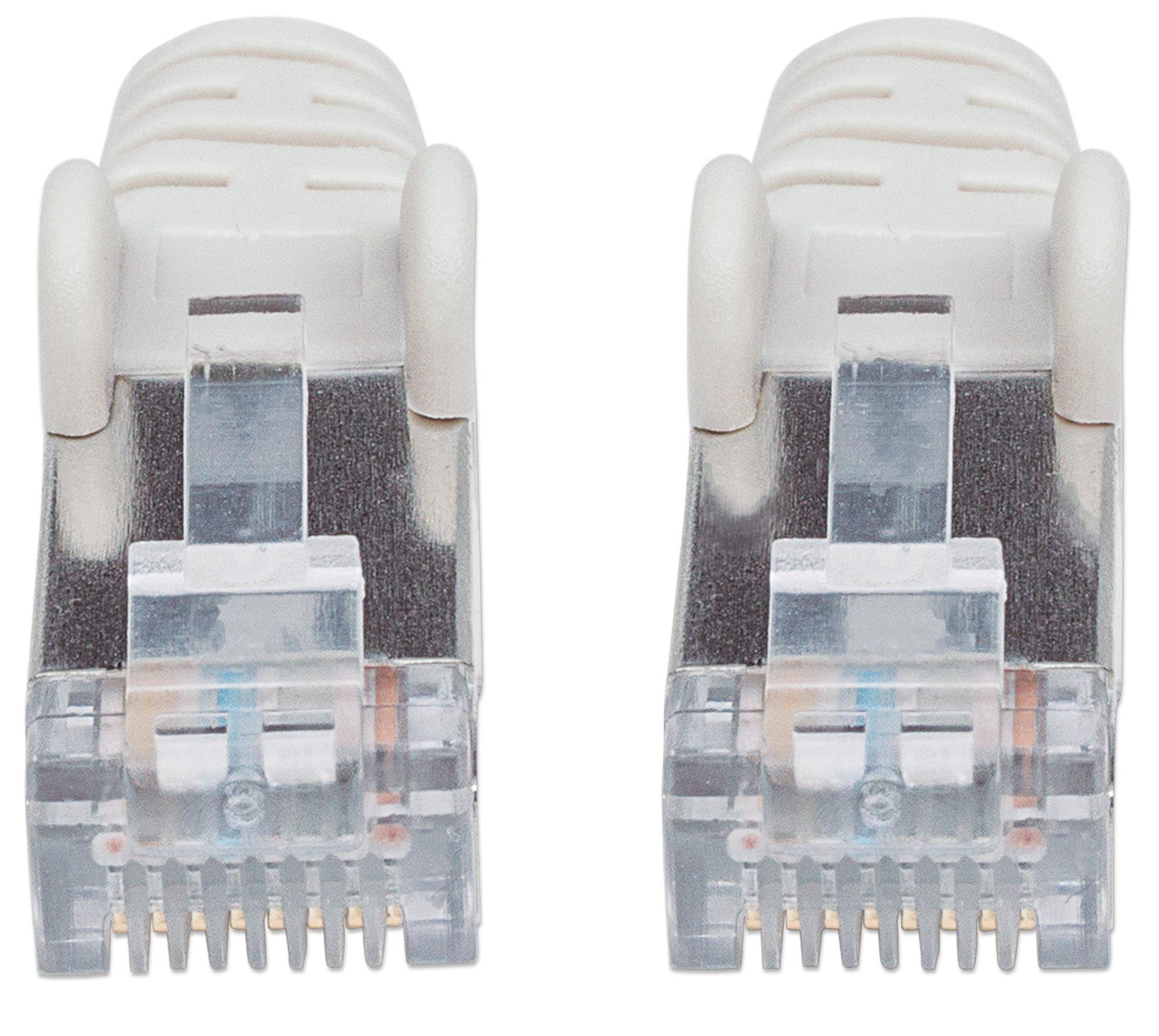 Cavo Patch Cat.7 Plug RJ45 6A S/FTP LSZH 10m Grigio