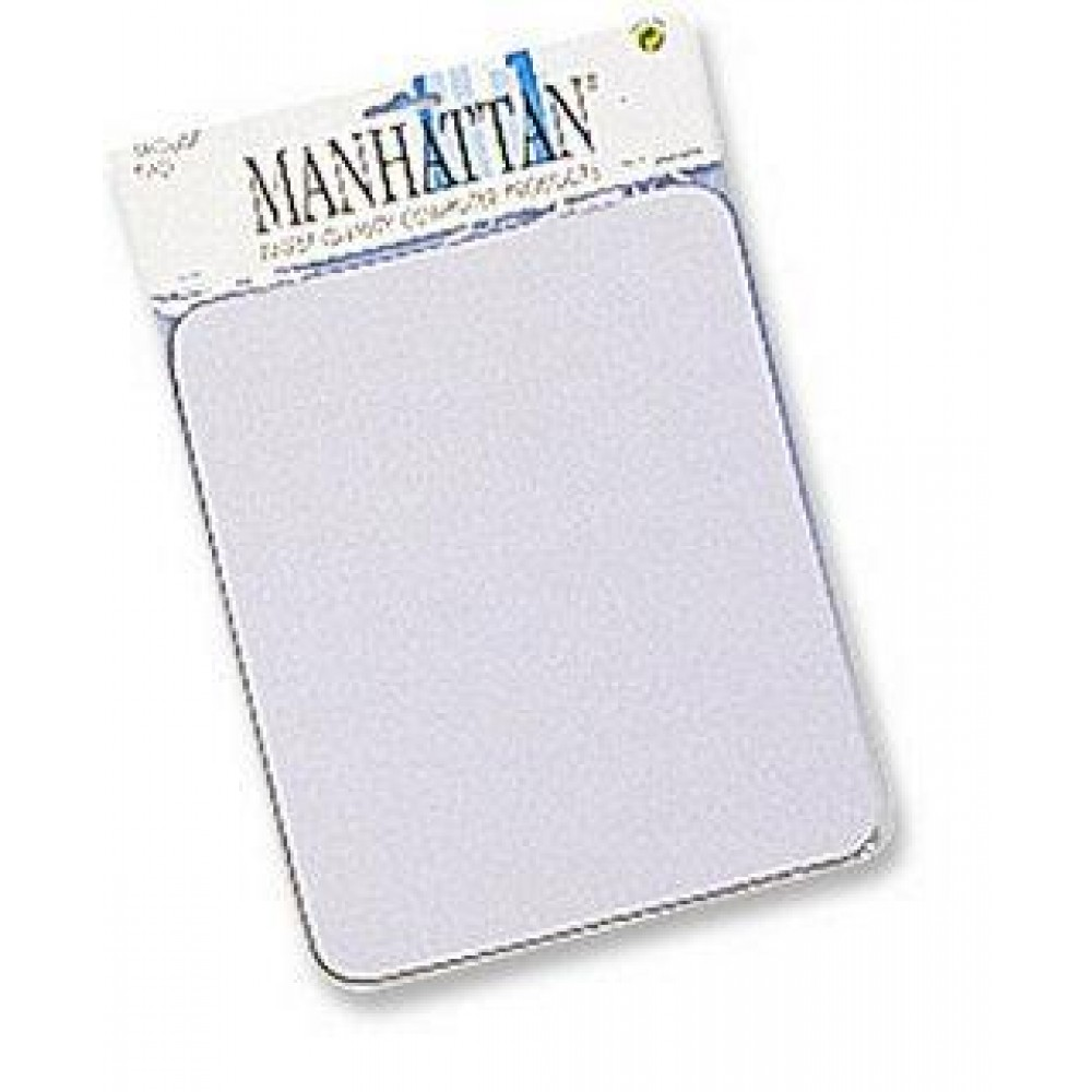 Tappetini Manhattan per Mouse, 6 mm, Bianco - Manhattan - ICA-MP 11-WHIT-1