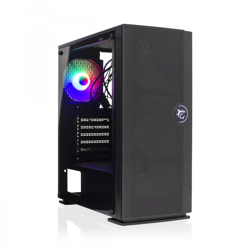 Case PC Chassis ATX Mid Tower con Ventola Nero - White Shark - ICSB-PANZER-1