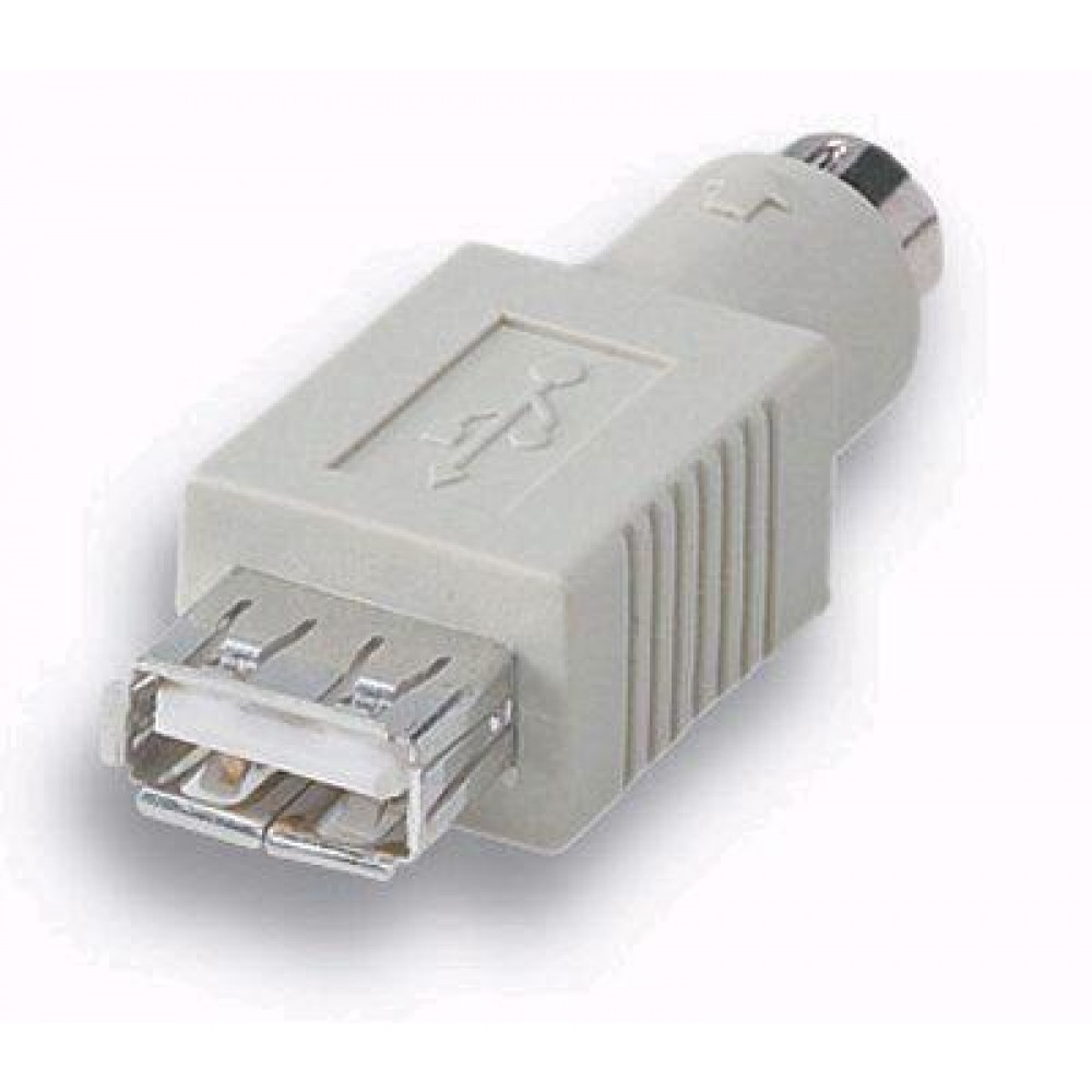 Convertitore da mouse USB a porta PS2 standard - Manhattan - IADAP USB-PS2-1