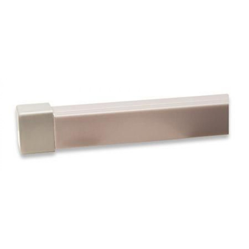 Tappo per canalina passacavi 16x16mm, grigio - Manhattan - IRW-END-PA