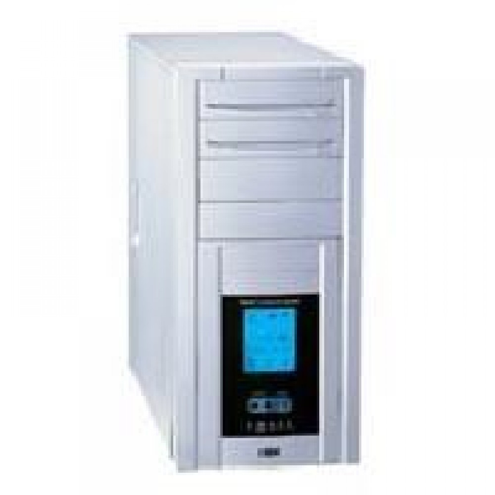 CASE MOON 450W 20PIN Middle tower LCD 400W CE PFC  - Manhattan - ICA-MTW 011-1