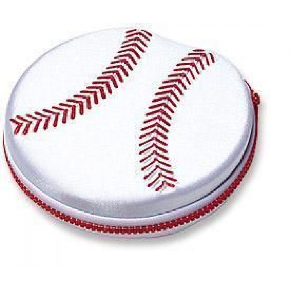 Porta CD/DVD design 'Baseball' - Manhattan - ICA-CD1-12BAS-1