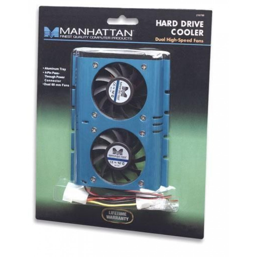 "Sistema di raffreddamento per hard disk 3.5"" - Manhattan - ICOOL-AIR-16-1"