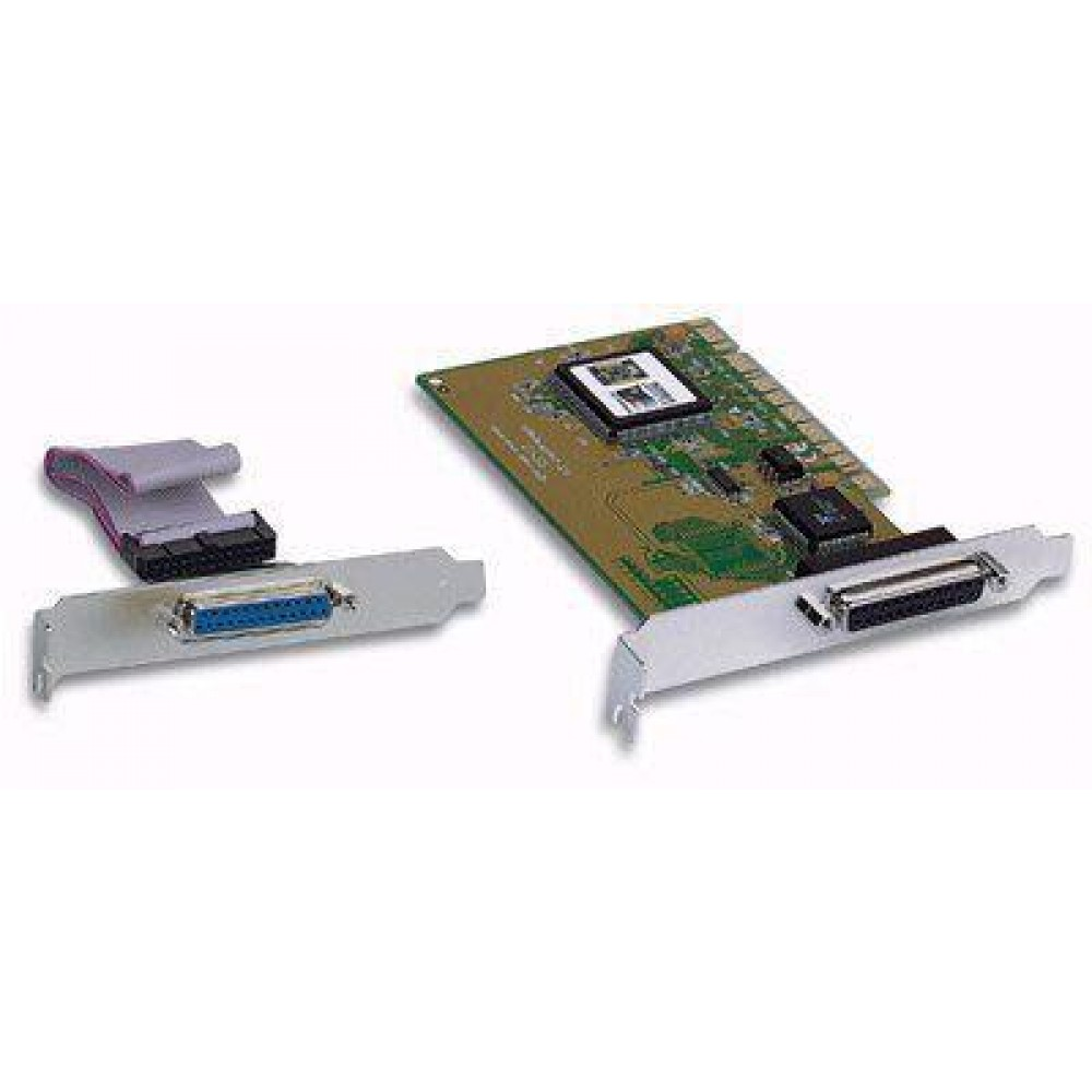 Scheda parallela due porte bus PCI  - Manhattan - ICC IO-27-1