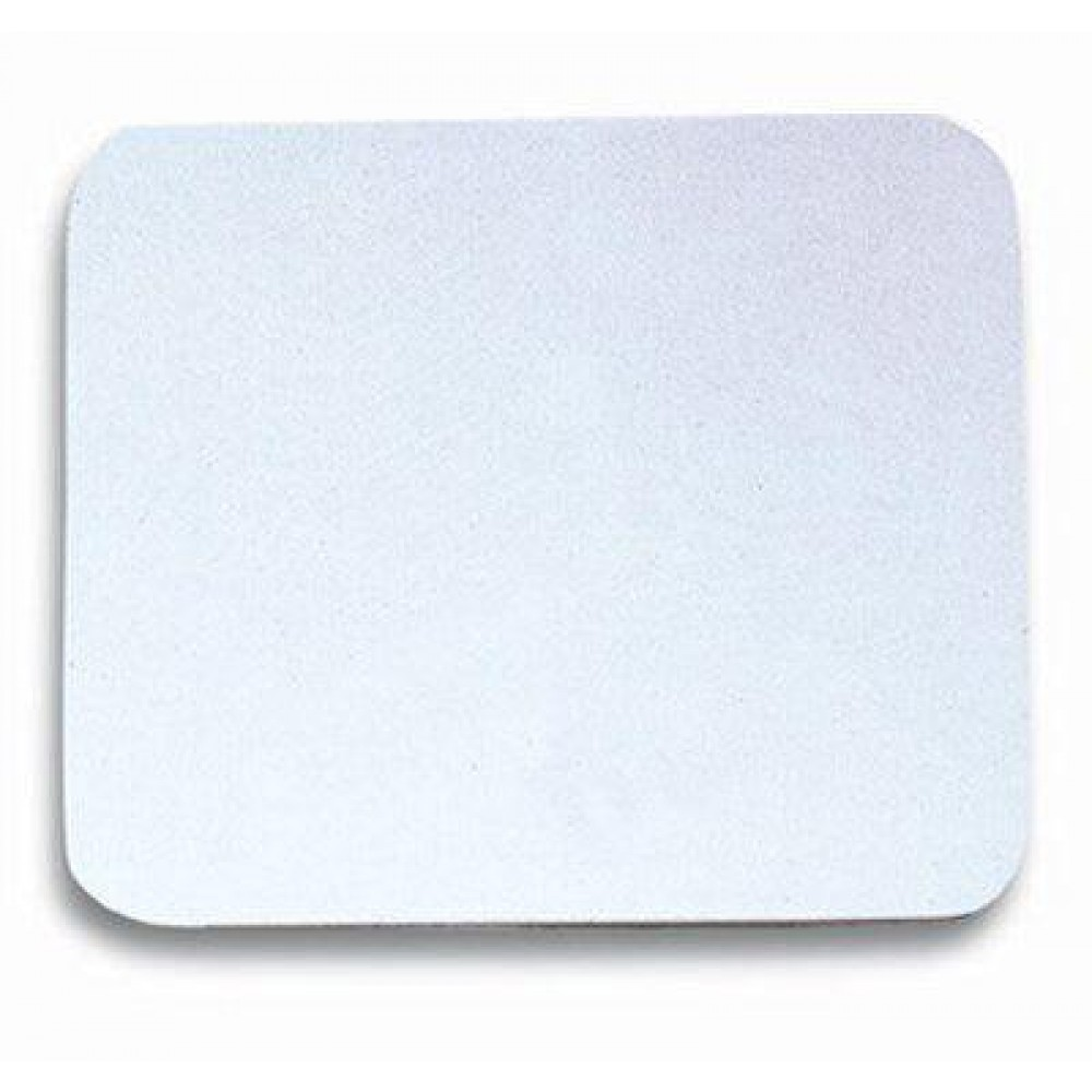 Tappetini Plastificati Manhattan per Mouse Tappetino plastificato bianco - Manhattan - ICA-MP 22-WHIT-1