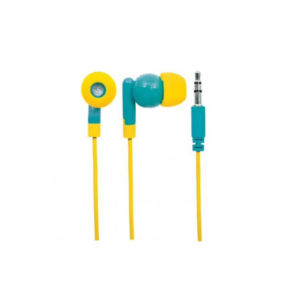 Auricolari POP In-Ear Azzurro e Giallo - Manhattan - SB-HP POP-YE-1