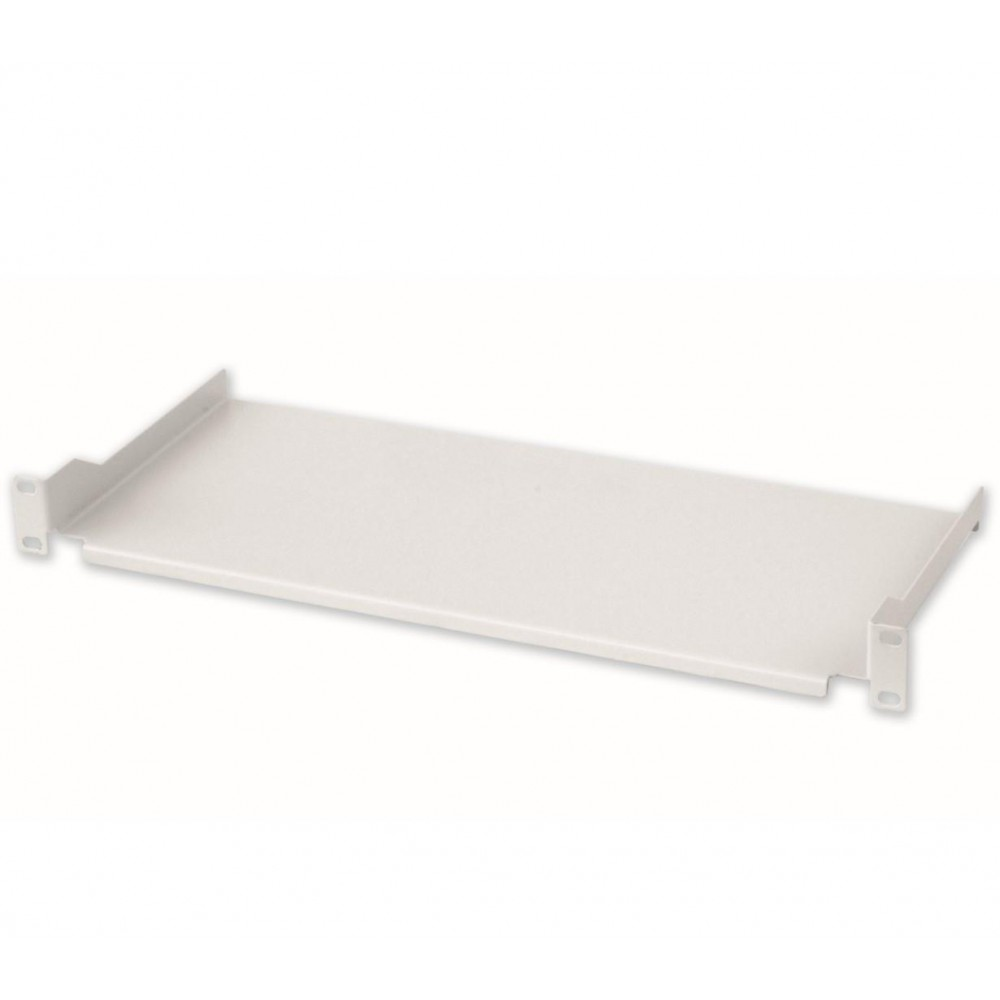 Mensola per Rack 19'' 200 mm 1U Grigia 2 punti  - Intellinet - I-CASE TRAY-7-1