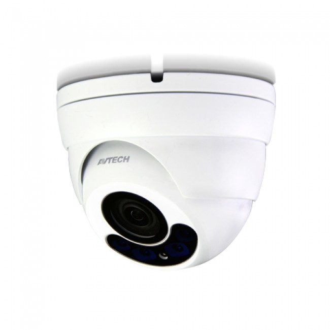 Telecamera Dome IP POE IR Varifocale 2MP da Soffitto IP66 H.265 - Avtech - IC-DGM1304AQS-1