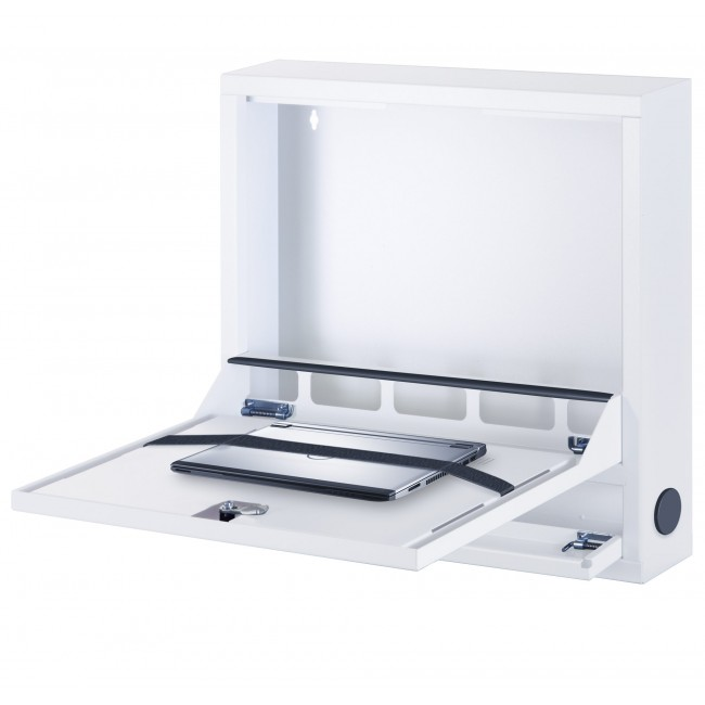 Box di Sicurezza per Notebook e Accessori per LIM Basic Bianco RAL 9016 - Techly Professional - ICRLIM04W2-1