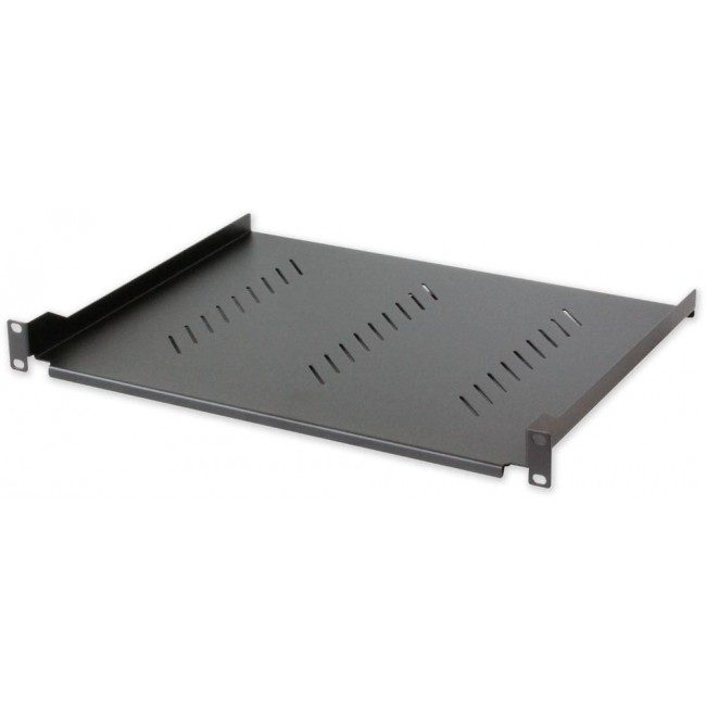 Mensola per Rack 19'' 305 mm 1U Nera 2 punti  - Intellinet - I-CASE TRAY-130BK-2