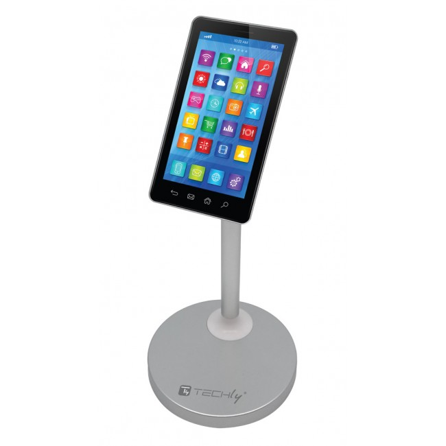 Supporto Magnetico da Tavolo per Smartphone e Tablet - Techly - I-SMART-DESKS-1