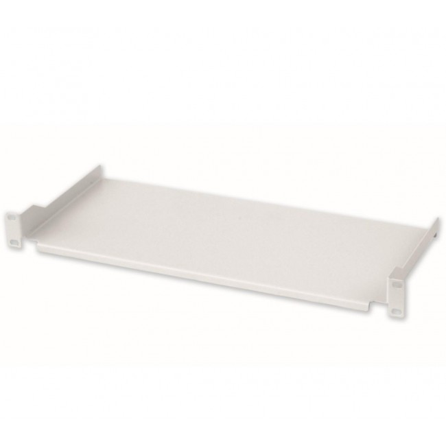 Mensola per Rack 19'' 200 mm 1U Grigia 2 punti  - Intellinet - I-CASE TRAY-7