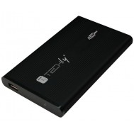 "Box Hard Disk Esterno IDE 2.5"" USB 2.0 Nero - Techly - I-CASE IDE-251TY"