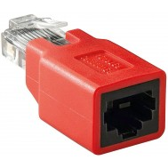 Adattatore RJ45 Cross M/F Cat 5e - Intellinet - IWP-MD C5E/INV