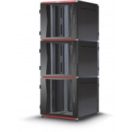 "Armadio Server Rack 19"" 800x1000 3x13 Unita' Nero serie MultiSPACE - Techly Professional - I-CASE EU-31381BK"