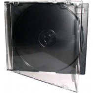 Porta CD Slim Jewel Case Nero - Manhattan - ICA-CD 01-BK