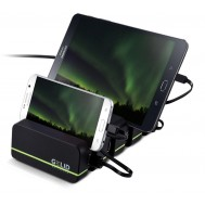 Docking Station 4 Porte USB Ricarica Smartphone e Tablet Fourza - Gelid - I-CHARGE-FOURZA