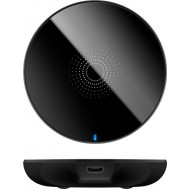 Caricabatterie Wireless Fast Qi Stand 5W Nero - Goobay - I-CHARGE-WRG-5WB