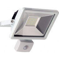 Proiettore LED Bianco IP44 30W 2500lm Sensore Movimento, Classe A+ - Goobay - I-HLED-OFM-30WW
