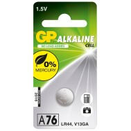 Blister 1 Batteria a bottone A76 LR44  - Gp Batteries - IC-GP102002