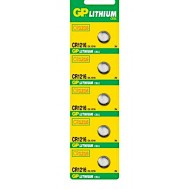 Blister 5 Batterie Litio a Bottone CR1216 - Gp Batteries - IC-GP103132