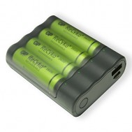 Powerbank e Caricabatterie AA 2 in 1, GPX411 - Gp Batteries - IC-GP202222