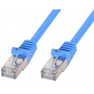 Cavo di rete Patch in rame Cat.6 Blu SFTP LSZH 0,5m - Techly Professional - ICOC LS6-005-BLT