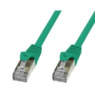 Cavo di rete Patch in rame Cat.6 Verde SFTP LSZH 0,5m - Techly Professional - ICOC LS6-005-GREET