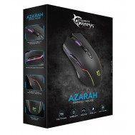 Mouse Gaming 6400 Dpi GM-5003 AZARAH RGB Nero - White Shark - ICSB-GM5003