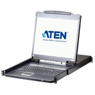 "Switch KVM 19"" over IP LCD VGA PS2-USB 8 Porte con USB, CL5708IN - Aten - IDATA CL-5708IN"