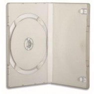 Custodia per DVD/CD BOX Trasparente - Manhattan - ICA-DVD-CLEAR