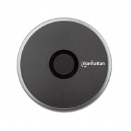 Pad di Ricarica Wireless Veloce 10W Nero - Manhattan - I-CHARGE-WRR10