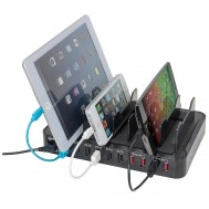 Docking Station 10 porte USB Ricarica Smartphone e Tablet - Manhattan - IPW-USB-MULTI