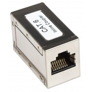 Accoppiatore RJ45 Cat6 8P8C Femmina/ Femmina, FTP, Silver - Intellinet - IWP-ADAP-C6/S