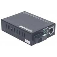 Media converter Gigabit Ethernet WDM Bidirezionale Single Mode RX1550/TX1310 - Intellinet - I-ET LX-WDM1