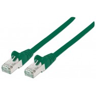Cavo di rete Patch in rame Cat. 6 Verde SFTP LSZH 20m - Intellinet - ICOC LS6-200GREEN