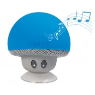Mini Altoparlante Bluetooth Mushroom Blu - Logilink - ICC SP-MUSHB