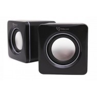 Speakers USB SP-02 Nero - Sbox - ICSB-SP02