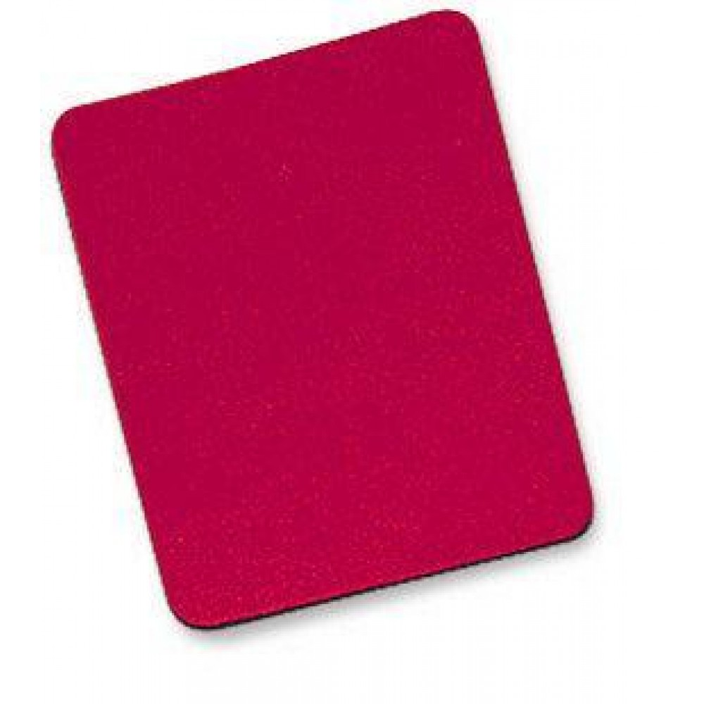 Tappetino per Mouse, 6 mm, Bulk, 25x22 cm, Rosso - Manhattan - ICA-MP 10-RED-1